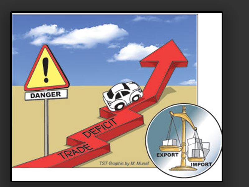 Trade deficit jumps up 24 percent