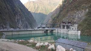 Flood causes heavy damage to Middle Bhotekoshi hydel project