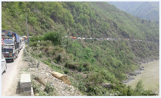 Narayangadh-Muglin road section to remain close in noon for two weeks