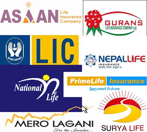 जीवन बीमा कम्पनीमा नेपाल लाइफको अग्रता कायमै, अन्यको यस्तो छ प्रगति