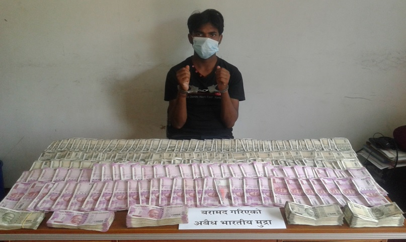 Agrawal busted with 1,1 million counterfeit Indian currency notes