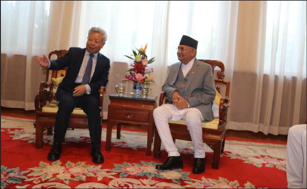 PM Oli urges AIIB to invest in Nepal