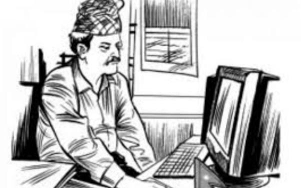 सरकारी नीतिकै बिरूद्ध सरकारकै कर्मचारी,कोरोनाको सङ्क्रमण हुने बित्तिकै कार्यालय बन्द