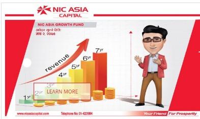 एनआईसी एशिया ग्रोथ फण्डको नबिल बैंक संस्थापकमा धेरै लगानी