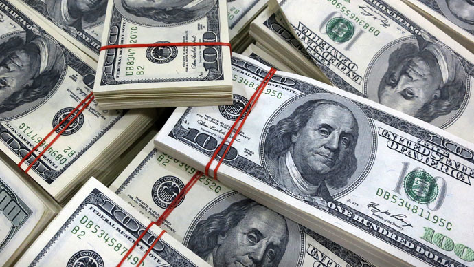 US Dollar Climbs Rs 1.12