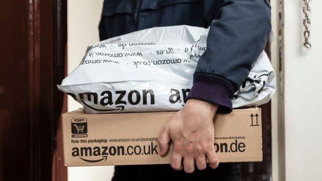 Amazon's market value tops $1tn