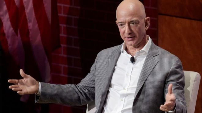 Amazon Boss Accuses Tabloid of Blackmail