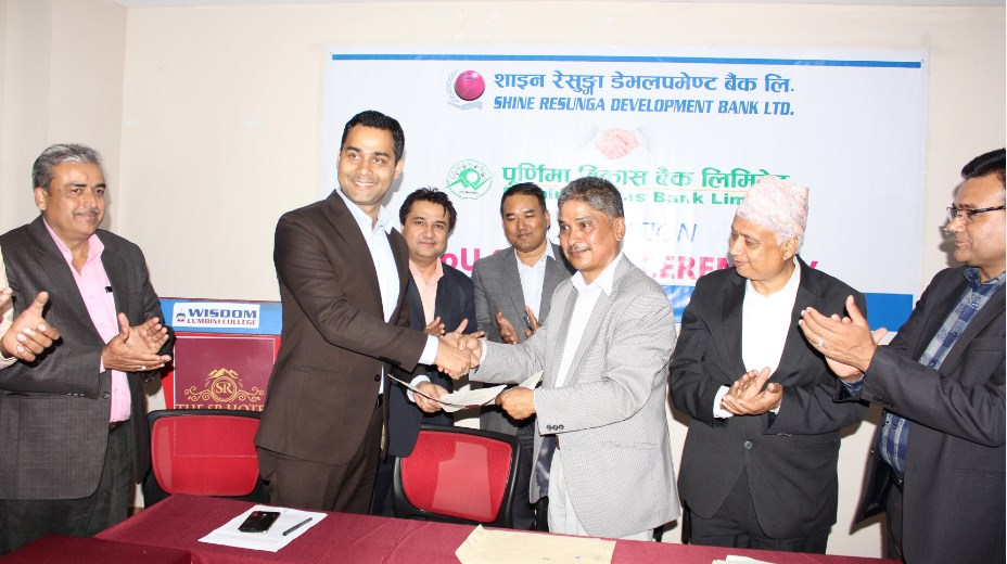 Shine Resunga to acquire Purnima Bikas Bank