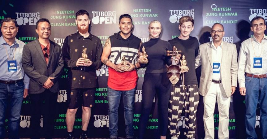 ग्रामी अवार्ड विजेता 'क्लिन व्यान्डिट' नेपालमा, नितेश जंग कुँवर' को साथमा टुबोर्ग ओपनमा प्रस्तुती