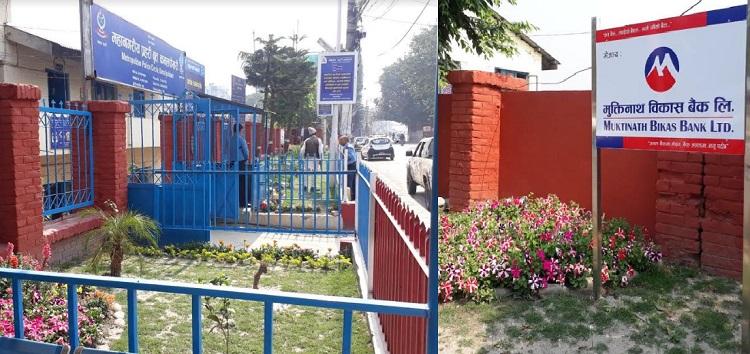मुक्तिनाथ विकास बैंकद्धारा कमलपोखरीमा हरित गार्डेन निर्माण