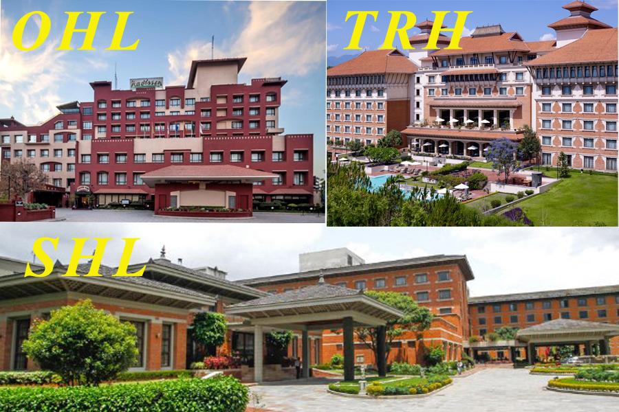 पर्यटन आगमन बढ्न नसकक्दा ठुला होटलहरुको नाफामा गिरावट, शेयर मूल्य घट्दै