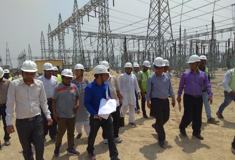 नेपाल-भारत विद्युत व्यापारका लागि निर्माणाधीन ढल्केबर सबस्टेसन पुसभित्र संचालनमा आउने