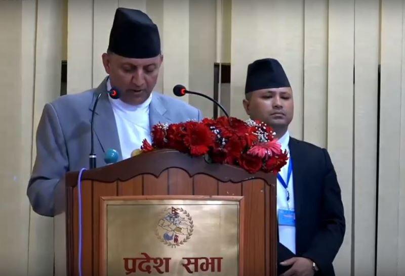 प्रदेश ३ मा ४७ अर्ब ८० करोडको बजेट प्रस्तुत,१३ वटै जिल्लामा राष्ट्रिय गौरवको आयोजना