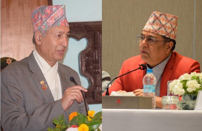 अर्थमन्त्री खतिवडा र गभर्नर नेपाल