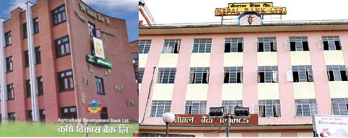 कृषि विकास बैंक र नेपाल बैंक मध्ये कुन अब्बल ? प्रगति विवरण सहित