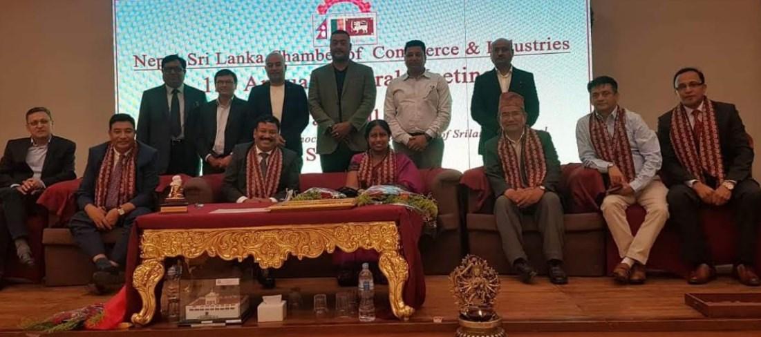 नेपाल श्रीलंका चेम्बर अध्यक्षमा रमेश मर्हजन चयन