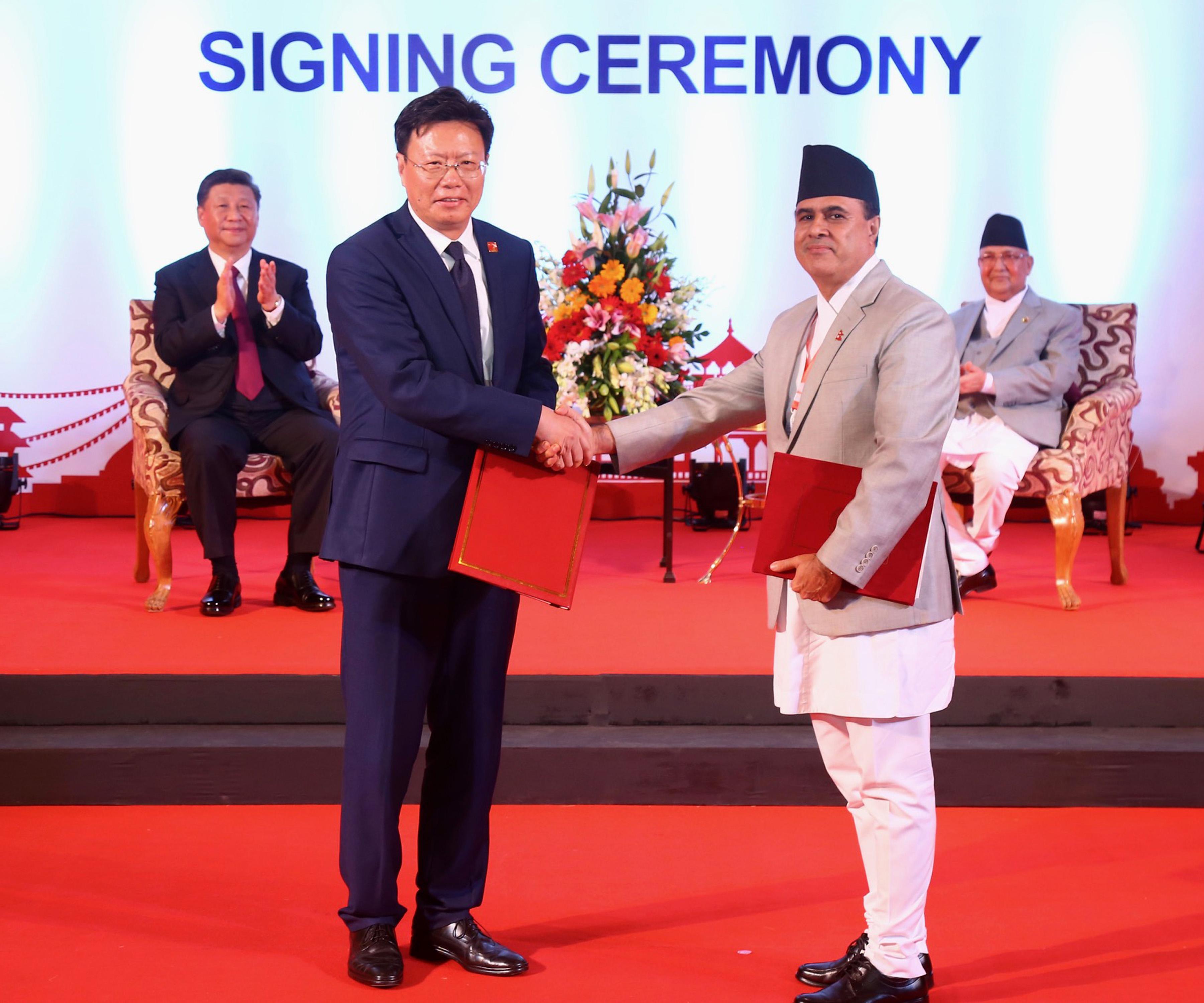 यस्ता छन् नेपाल र चीन सम्झौता र समझदारीको २० बुँदा
