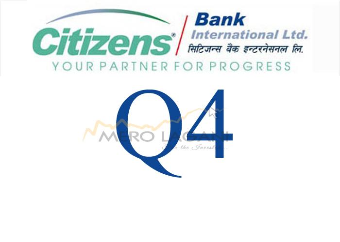 Citizens Bank International's Net Profit Decreases