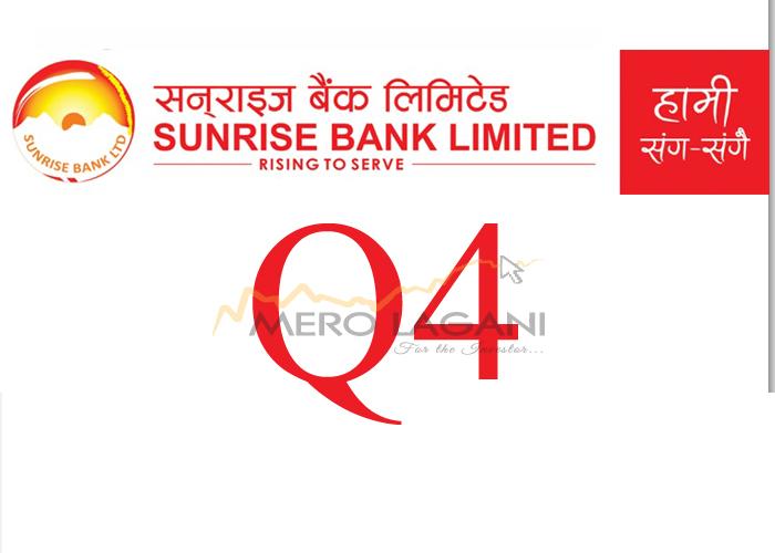 Net Profit of Sunrise Bank Decreases By 18%