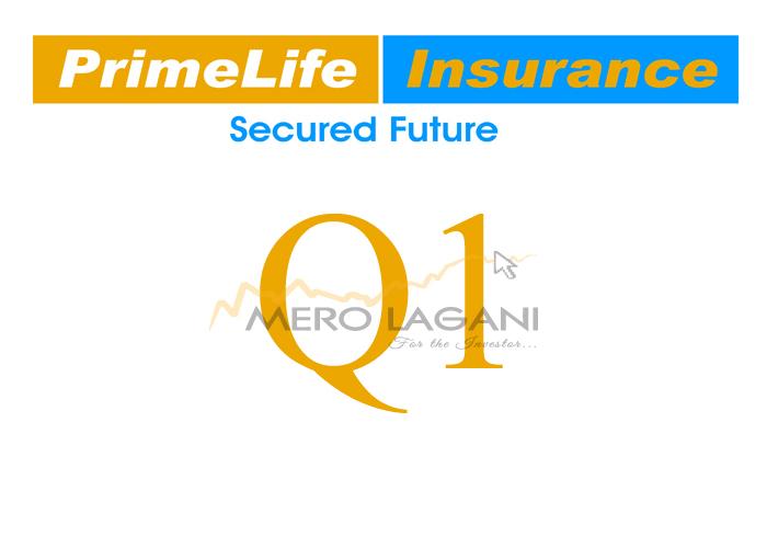 Net Insurance Premium of Prime Life Insurance Nears Billion