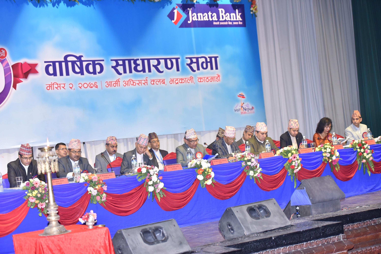 जनता बैंकले पारित गर्यो ग्लोबल आइएमई बैंकसँग गाभिने प्रस्ताव, पूँजी १९ अर्ब पुग्ने