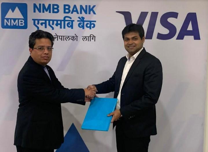 एनएमबि बैंक नेपालमा भिसाको विशेष मुख्य सदस्य बैंकहरूको समूहमा प्रवेश