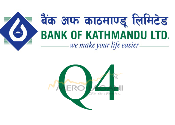 Net Profit of Bank of Kathmandu declines