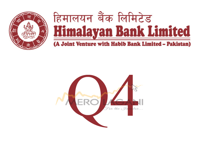 Himalayan Bank Earns Net Profit of Rs 2.54 Bn