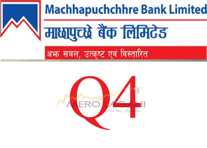 Net Profit of Machhapuchchhre Bank Decreases
