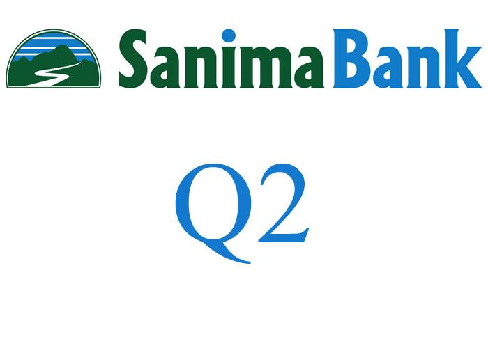 खुद ब्याज आम्दानीसँगै घट्यो सानिमा बैंकको खुद नाफा