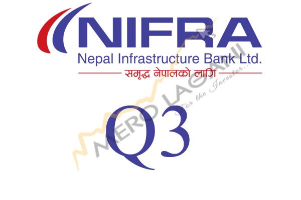 Nepal Infrastructure Bank Logs Plain Growth
