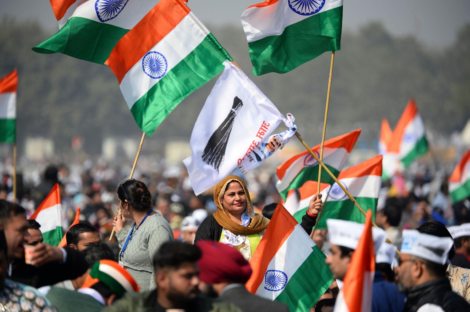 केजरीवालद्वारा दिल्लीको मुख्यमन्त्रीमा तेस्रो कार्यकालको सपथ ग्रहण