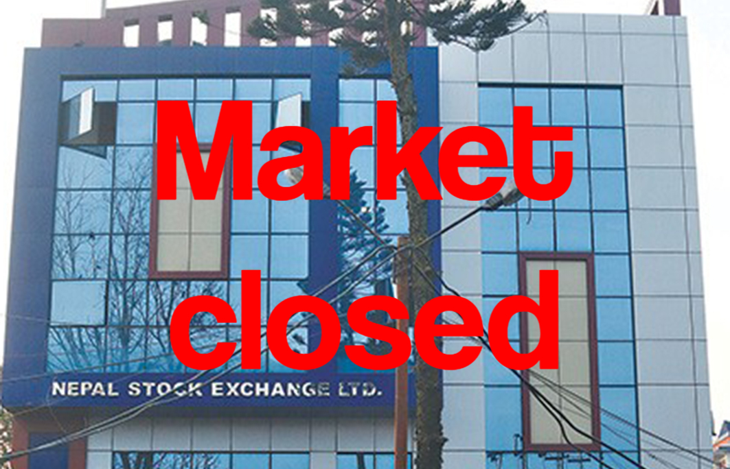 Stock market closes for today after index decreased by 6%