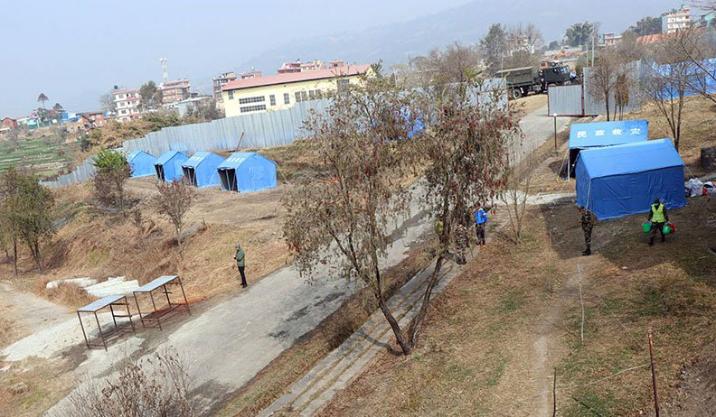 Seven holding centres in Kathmandu Valley ready for rescued Nepalis