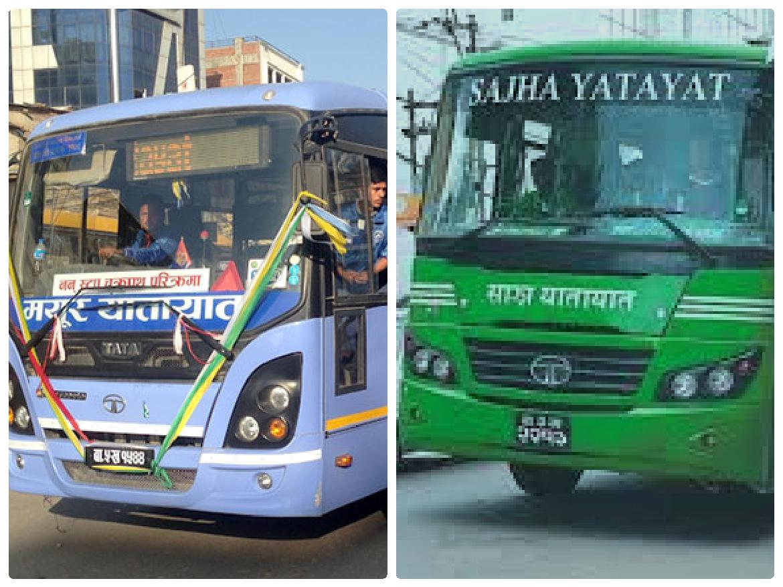 Mayur company resumes bus service in Kathmandu