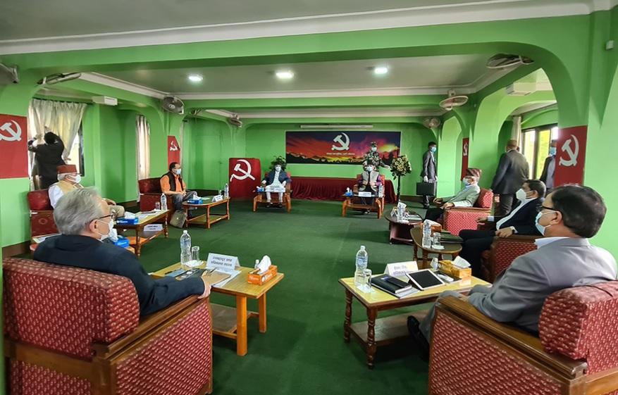 नेकपाको सचिवालय बैंठक भोली पनि बस्ने, स्थायी कमिटिको निर्णय अनुसार मन्त्रिपरिषदको पुनर्गठन गरिने