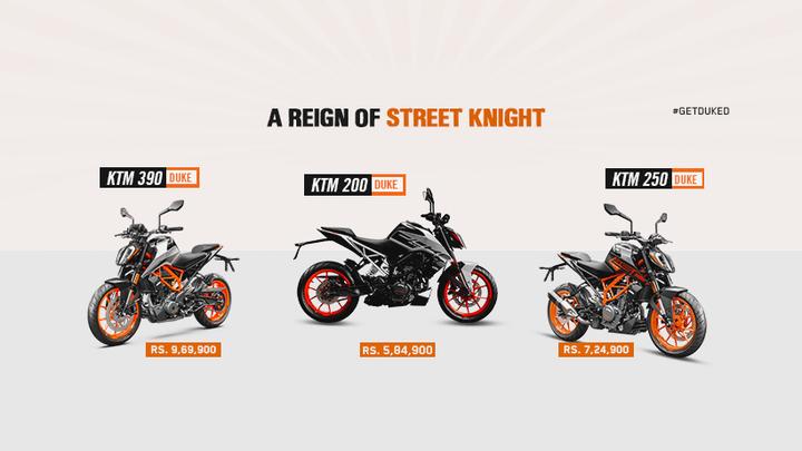केटीएमले बढायो सबै मोटरसाइकलको मूल्य, एउटै मोटरसाइकलमा ९५ हजारसम्म मूल्य वृद्धि