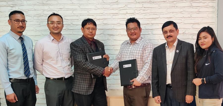 बैंक अफ काठमाण्डू र नेपाल पेमेन्ट सोलुसन्सबिच गुणस्तरिय डिजिटल सेवाको लागि सम्झौता