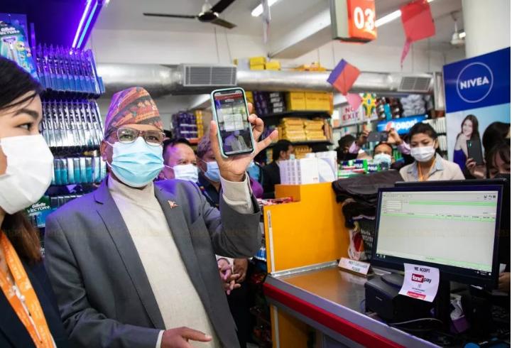 भाटभटेनी सुपरमार्केटले शुरु गर्यो क्युआर कोड भुक्तानी सेवा, सबै आउटलेटहरुमा शुरू हुने
